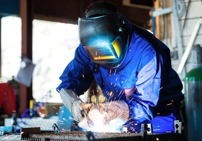 Arbeitsschutzprodukte für Schweißer