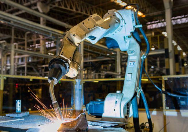 Schweißen mit Roboter